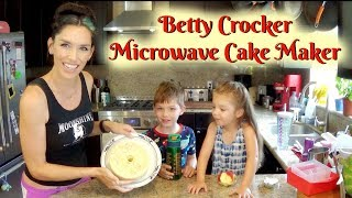 Betty Crocker Microwave Cake Maker Demo And Review Youtube