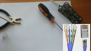 how to crimp ethernet cable without crimping tool