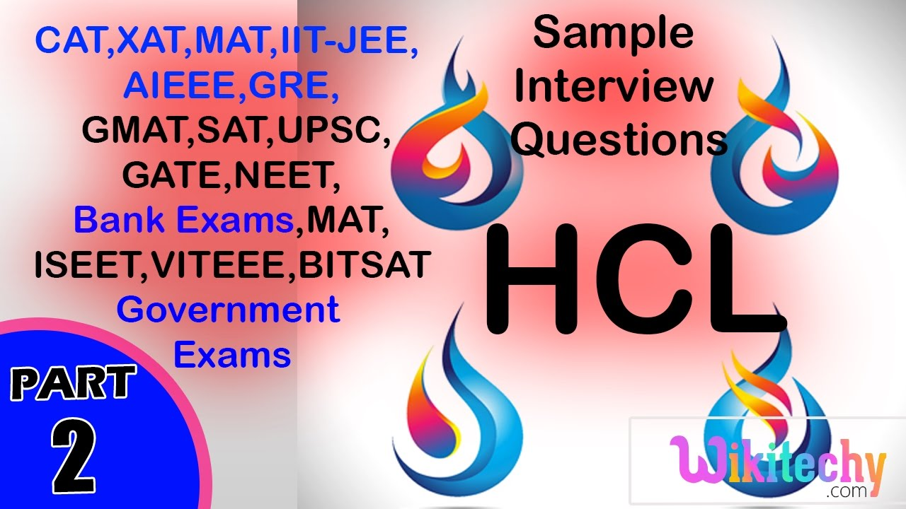 Hcl Previous Placement Papers With Answers Pdf