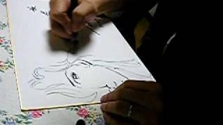 Tsukasa Hôjô drawing Cat
