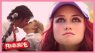 Rebelde: ¡Roberta se entera de la relación de Diego y Sol! | Escena C256-C257  | Tlnovelas