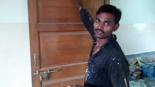 Old Doors || Natural Polish or French Polish applying procedure in Hindi