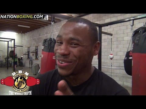 """""""NOBODIES EVER  HIT ME THE WAY HE (GOLOVKIN) HIT ME... BUT HE DOES HAVE FLAWS"""" BRANDON ADAMS"""