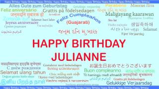 JuliAnne   Languages Idiomas - Happy Birthday