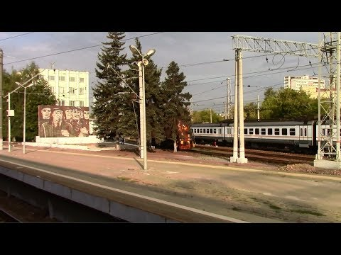 Белорусский вокзал — Бородино на ЭР2Р-7049