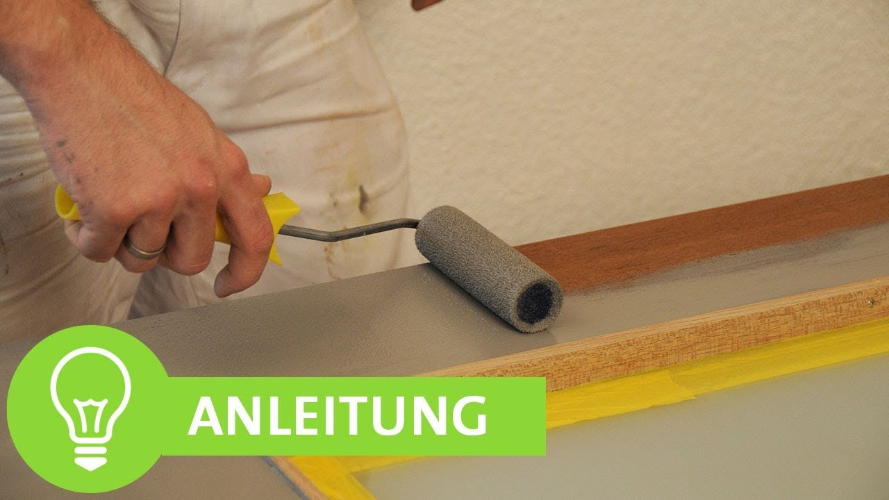 Tür streichen ohne Streifen: Anleitung für einfaches Lackieren von