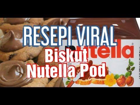 resepi-biskut-raya-nutella-pod|resepi-viral-dapur-kayu-berasap
