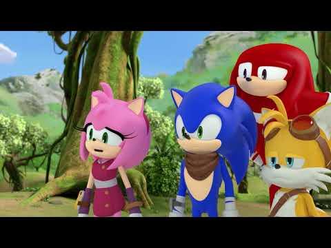 Соник Бум - 2 сезон 8 серия - В час ночной | Sonic Boom - мультик для детей