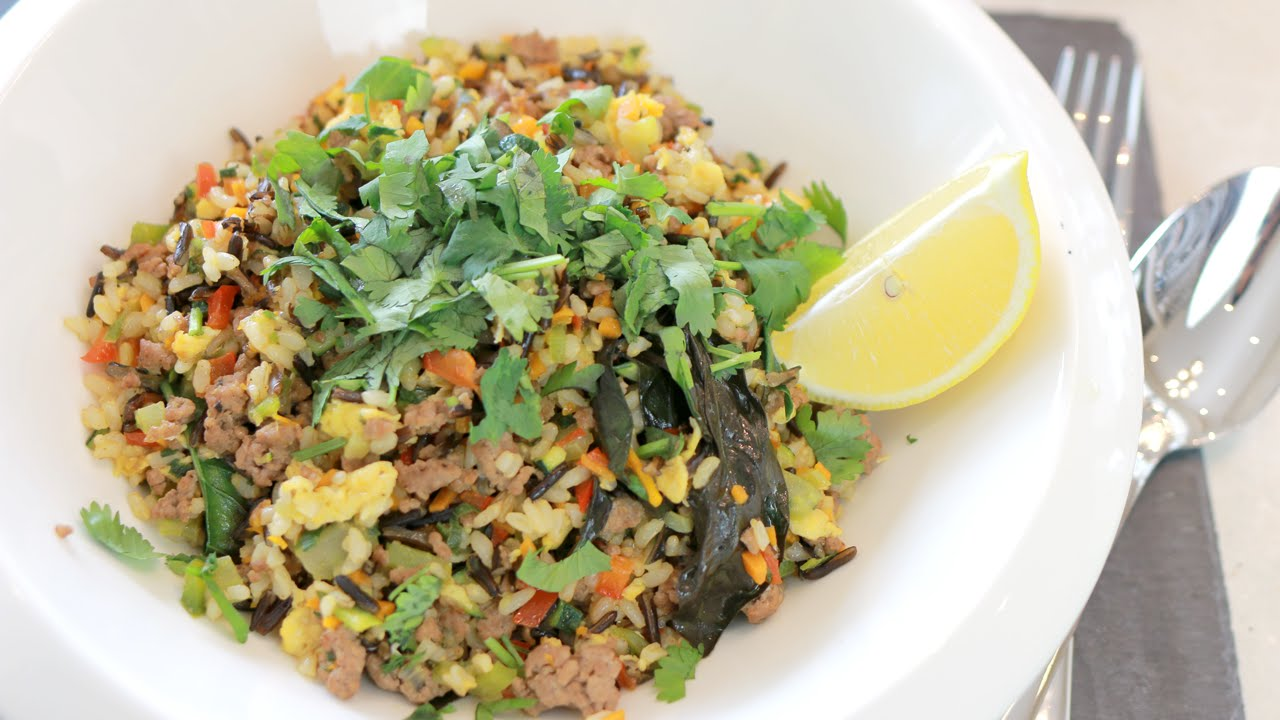 ... -Protein & Low-carb Veggie Wild Fried Rice | Better Health - YouTube