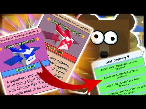 Final Onett Quest Complete Gifted Cobalt Crimson Bees Roblox Bee Swarm Simulator Youtube