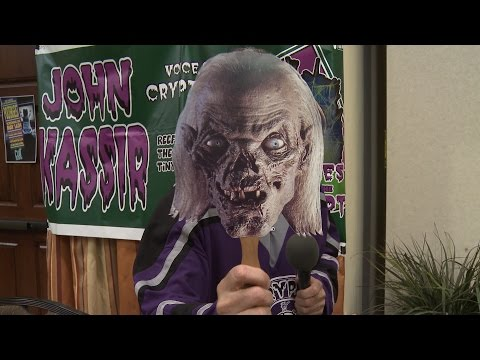 John Kassir The Crypt Keeper Station ID  The Horror