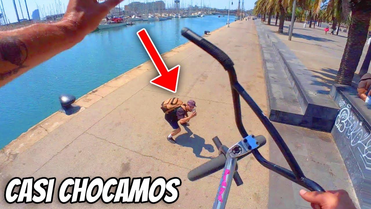 Montamos BMX por las Calles de Barcelona (POV)