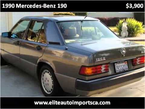 1990 Mercedes-Benz 190 Used Cars Concord CA