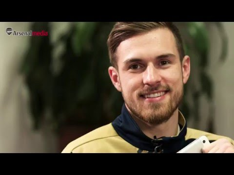 Aaron Ramsey admits listening to Zayn Malik!