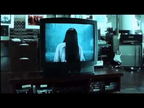 The Ring horror movie scene