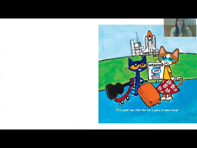Story Time with a Nicole!- Pete the Cat our of this World