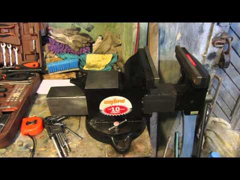 Обзор тисков для гаража Ombra
