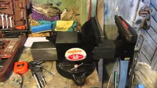 Обзор тисков для гаража Ombra(Мой долгожданный обзор новых тисков для гаража от Ombra., 2015-08-20T13:12:30.000Z)