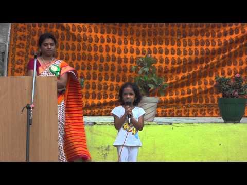 Shreshti Singing Desham Manade Tejam Manade