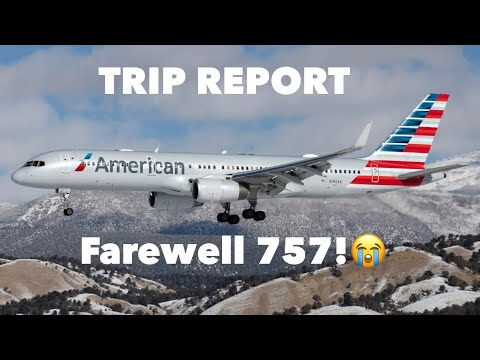 American Airlines 757-200 |Business Class| St Thomas To Miami| 2018