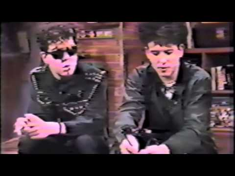The CURE - Rare - MTV Interview 1983 with Nina Blackwood