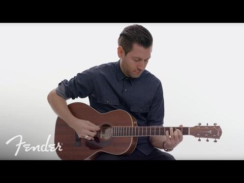 Fender PM-2 Parlor All-Mahogany NE | In-Depth Look | Fender