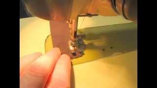 """Bernina 530 2 Details & Sewing """"magic Bun"""" Hair Accessory From 2 Slap Bracelets"""