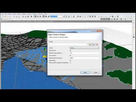 #2 CityEngine Tutorial: Terrain and Dynamic City Layouts