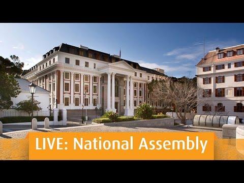 Plenary: National Assembly, Thursday 17 March 2016