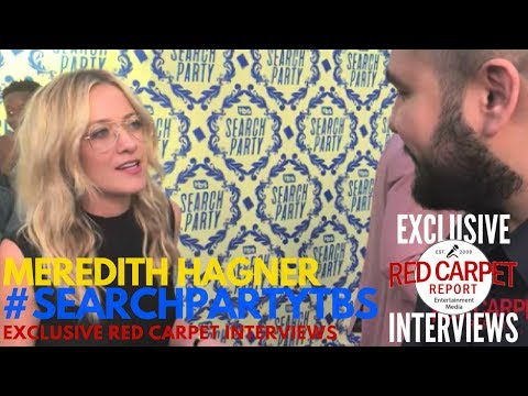 Meredith Hagner ed at the TBS's Search Party dark comedy FYC Event