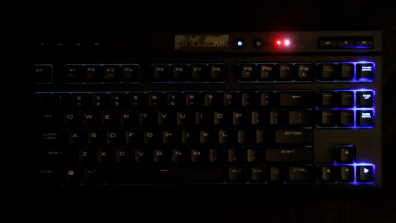 CORSAIR K63 Wireless Mechanical Keyboard Review | TechPowerUp