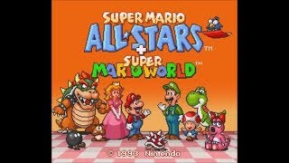 Super Mario All-Stars + Super Mario World (SNES) - Longplay