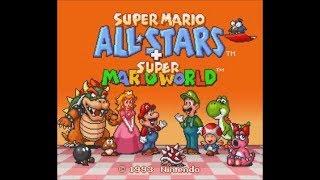 Super Mario All-Stars + Super Mario World (SNES) - Longplay
