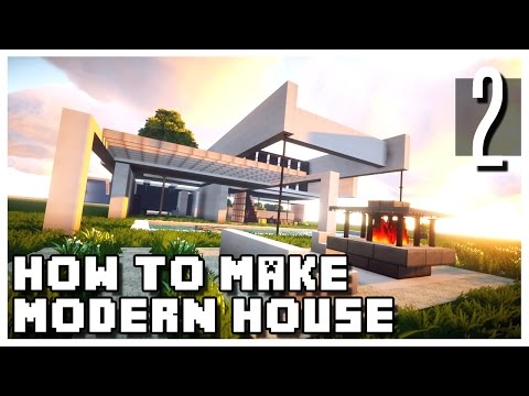 minecraft how to make a small modern house part 2 yourepeat