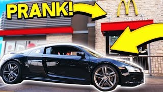 CRAZY REAL LIFE SUPERCAR PRANK!