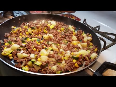 Picadillo Recipe – Ground Beef Hash Recipe