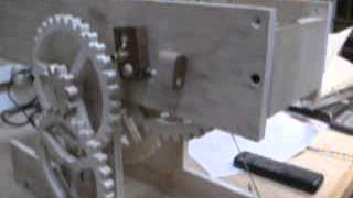Wooden Gear Clock Prototype Part 2