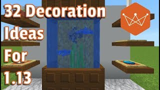 32 More Decoration ideas for Minecraft 113