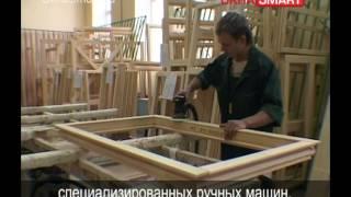 видео Деревянные окна со стеклопакетами
