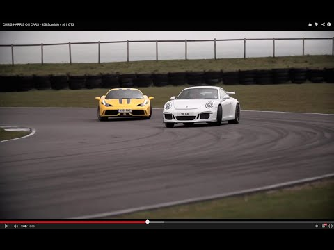 CHRIS HARRIS ON CARS - 458 Speciale v 991 GT3