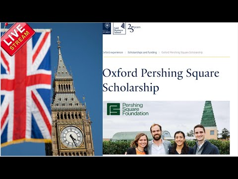 Oxford 1+1 MBA Pershing Square Scholarship (Scholarships IN THE UK for international students)