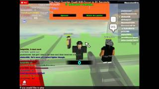 Roblox Lets Play ( Hunger games )