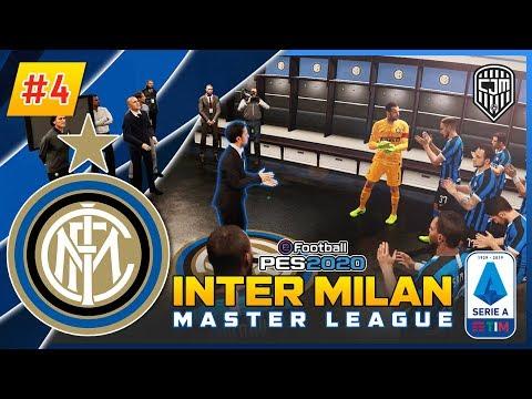 PES 2020 Indonesia Inter Milan Master League: Laga Perdana Serie A Italia Lawan Brescia Calcio #4
