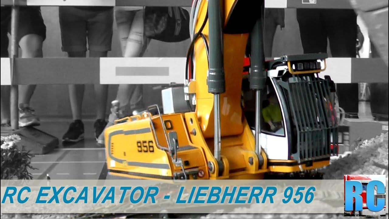 Big Rc Hydraulic Excavator Liebherr 956