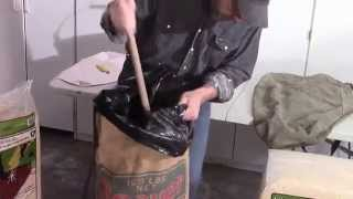 How to make a Punching Bag - DIY  Duke