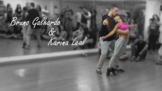 Bruno Galhardo & Karina Leal - Workshop Brasília - Brazilian Zouk