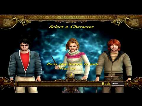 Harry Potter And The Goblet Of Fire Full Movie Based Video Game 1/3