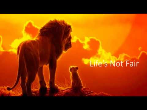 Lifes Not Fair Lion King 2019 Lyrics Video Hans Zimmer