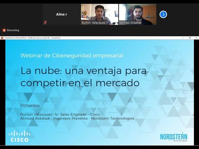 [Video] Webinar La nube: Una ventaja para competir en el mercado
