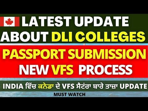 Canada Visa Updates | Canada VFS Global Latest Update | DLI List| Canada Student Visa | Biometrics